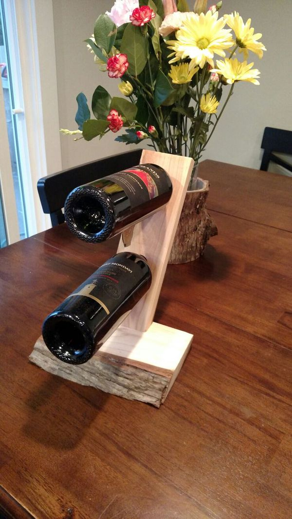 Live Edge Cedar Wine Rack Household In Renton Wa Offerup