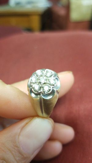 14k gold and daimond ring