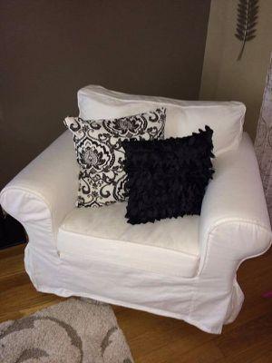 IKEA ektorp white chair