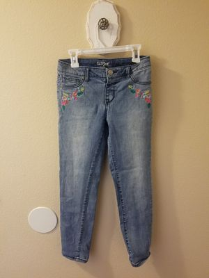 Girls 12 jeggings. Great condition. Super cute