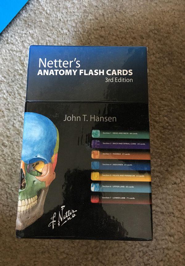 Netters Anatomy Flash Cards (Beauty & Health) in Phoenix, AZ - OfferUp