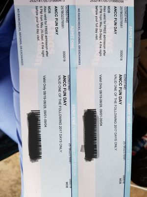 2 tickets for kings dominion