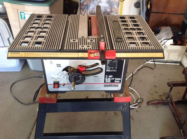 10 inch 3hp ohio forge table saw tools machinery in peoria az 10 inch 3hp ohio forge table saw greentooth Image collections