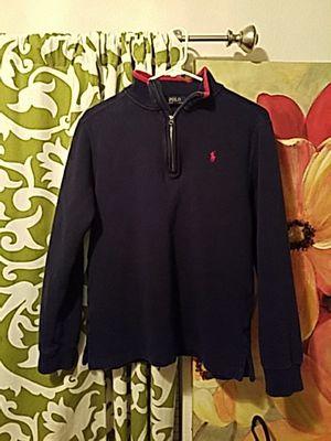 Polo zip up sweatshirt (Ralph Lauren)