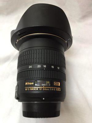 Nikon AF-S Nikkor 12-24mm f4 G ED ultra wide angle