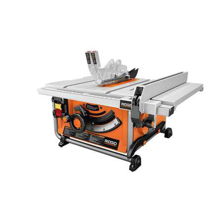 Ridgid 15 amp 10 in compact table saw with folding x stand brand ridgid 15 amp 10 in compact table saw with folding x stand brand new tools machinery in fort lauderdale fl greentooth Gallery