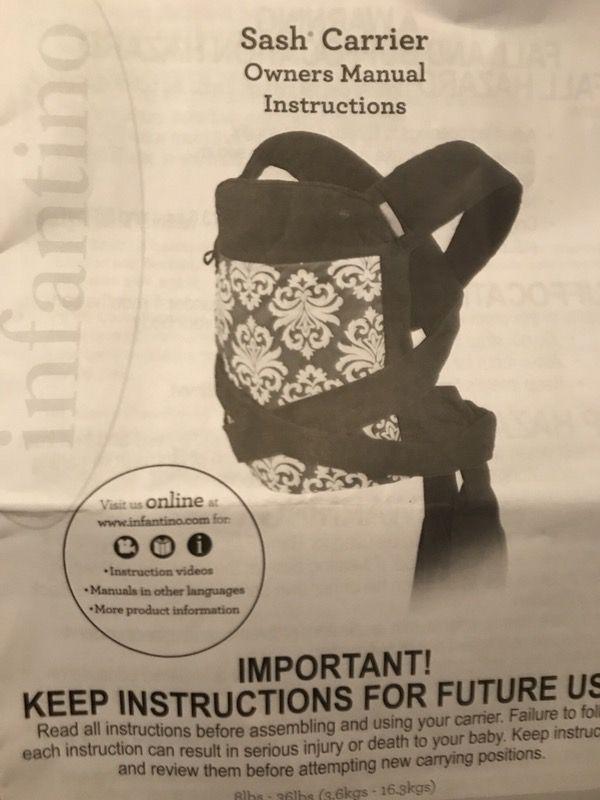 Infantino Sash Carrier Baby Kids In Melbourne Fl Offerup
