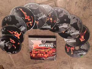 Complete Insanity Set - workout DVDs