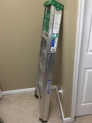 Werner 6ft ladder like new condition