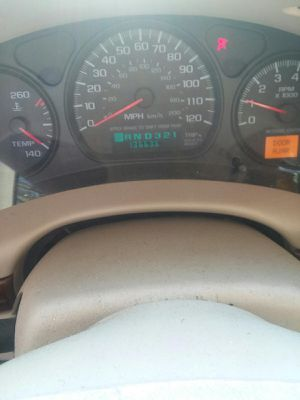 2003 impala white on white 137000 miles good condition {contact info removed}