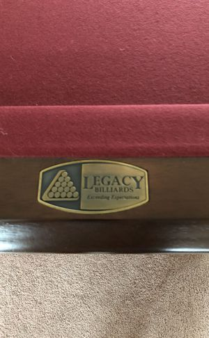 7' Legacy Billiard table