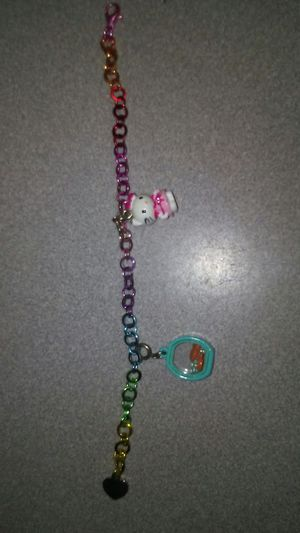 Children's Rainbow Charm Bracelet