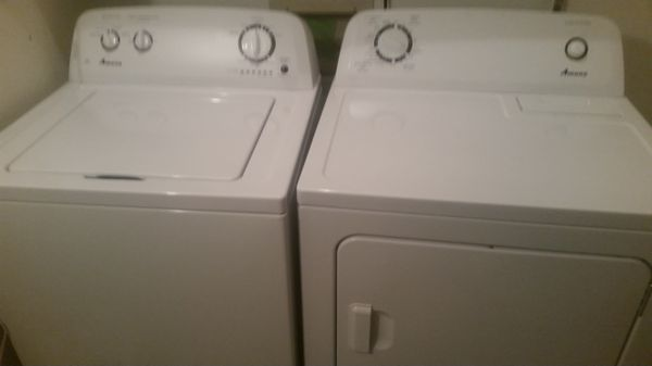 Amana Washer and Dryer 400 OBO Very Lightly Used Appliances in