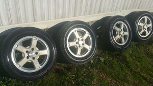 4 CHEVY IMPALA WHEELS AND TIRES