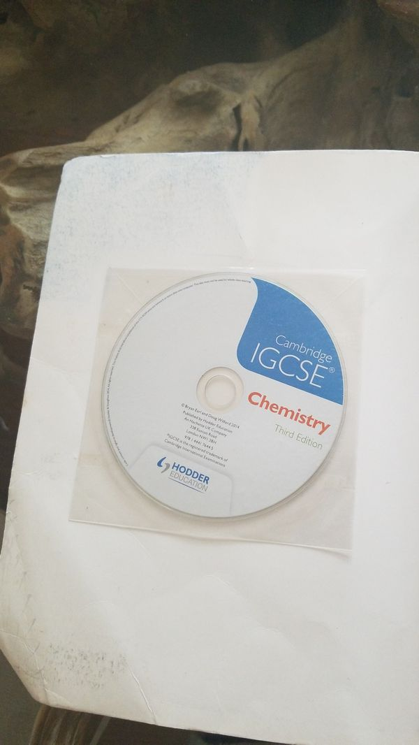 Cambridge igcse chemistry 3rd edition textbook books magazines cambridge igcse chemistry 3rd edition textbook books magazines in houston tx offerup fandeluxe Image collections