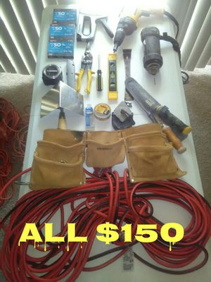 Tools ( All for $150 )