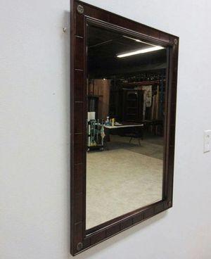 Vintage (The Bombay company) federal mahogany hanging console mirror