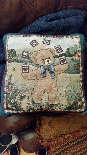 Teddy bear Love pillow