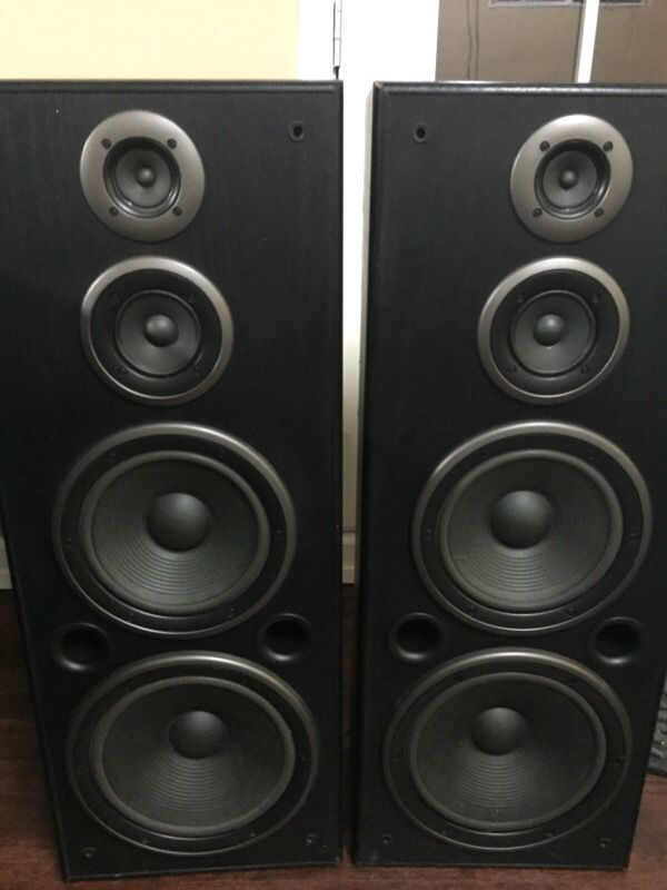 Technics --sb-a36 3-way Floor Speakers