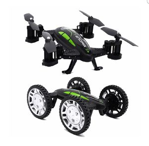 Tecesy FY602 2.4Ghz RC Car and RC Quadcopter Dual Modes Indoor/Outdoor Flying Car Drone,