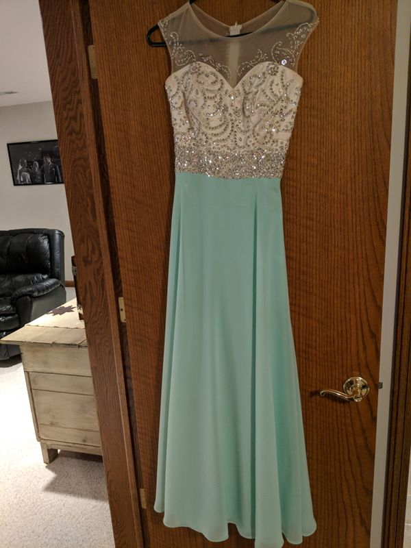 Mint Green Prom Dress Clothing Shoes In Omaha Ne Offerup