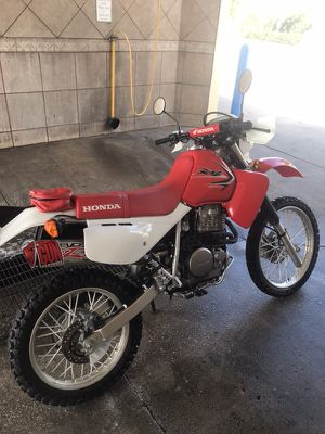 Honda xr650 2017 like new