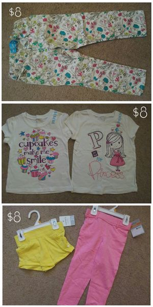 Toddler girl spring/summer clothes