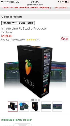 Fruity loops download to your computer for half the price