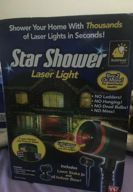 Star shower leader light