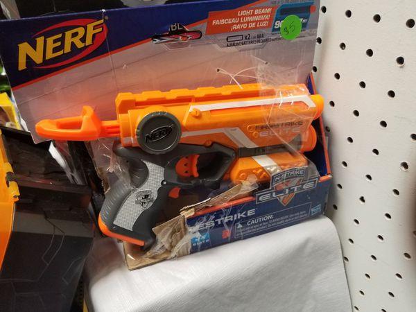 Image is loading Nerf-N-Strike-Elite-Stryfe-Blaster-Gun-Accessories-