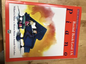 Piano music Alfred's recital book level 1a
