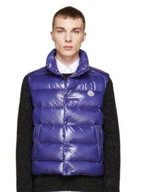 Blue Moncler Vest