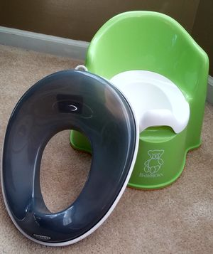 Vtech toy and training potty