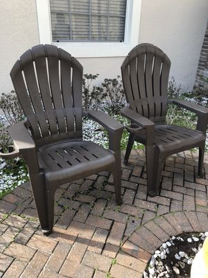 Two Outdoor Chairs