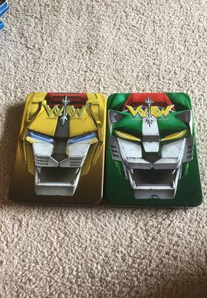 Voltron DVDs- collection 2 and 3