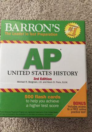 AP US History - study flash cards