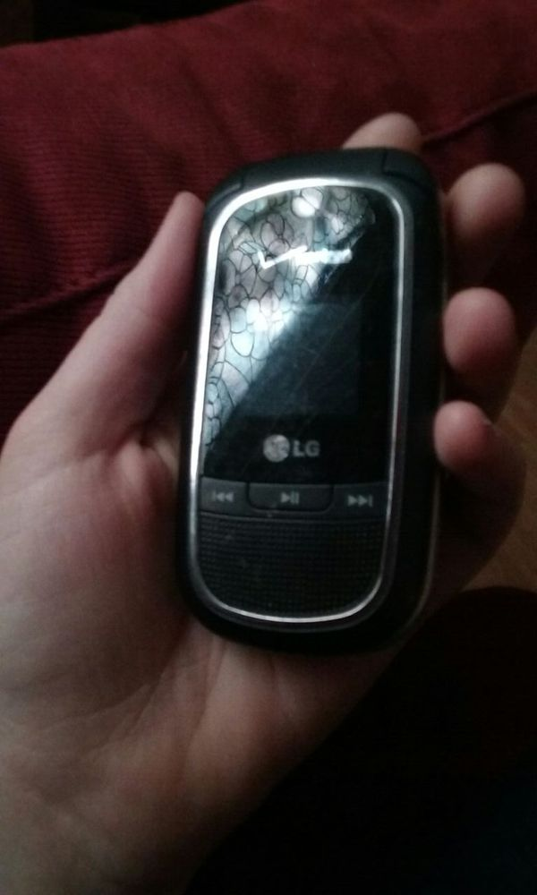 how to turn on lg flip phone