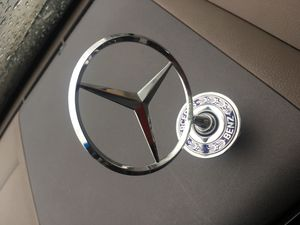 Mercedes Benz factory emblem