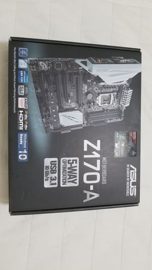Asus Z170-A Socket 1151