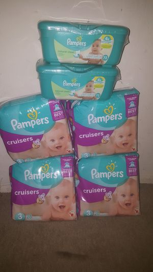 Pampers and Wipes