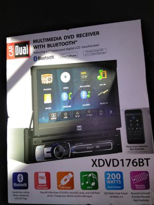 Dual touch screen radio