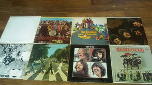 Lot of 12 Beatles Records