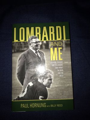 Book Vince Lombardi & Me by Paul Hornung