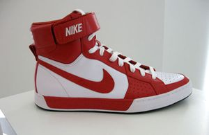 Nike Air Flytop Red/White 2009 DS Men's 8.0 or 9.0