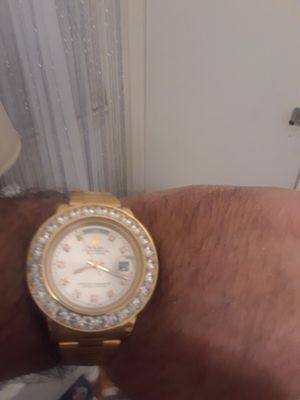 Rolex president needs a cleaning this is a steal