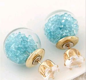 Glass & Crystal Earrings