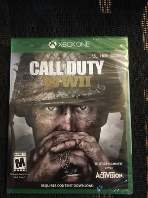 Call of Duty WWII (World War 2) for XBox One - New