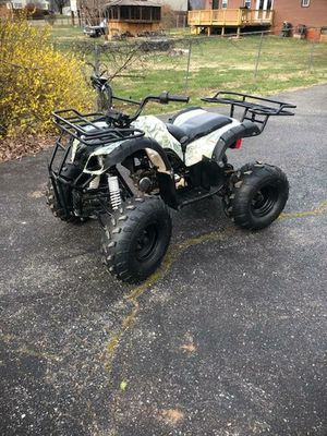 Youth ATV. 110cc. Runs great. Moving and must sell.