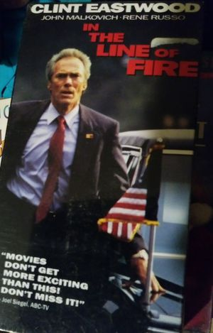 """In the Line of Fire """"VCR/VHS Movie"""""""