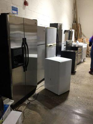 Variety of Refrigerators